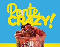 Crazy Munchies Branding
