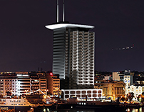 Piraeus Tower,  Port of Athens