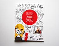 Illustrations for Goethe Institut - Deutsch mit Socke