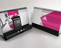 Adidas China 2017 VIP Calendar