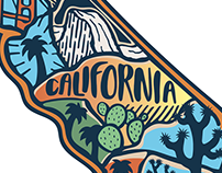 California Sticker w/ KeepItWildCo