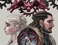 Game of Thrones   Fan Art Poster