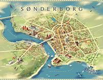 Sønderborg city map