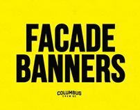Columbus Crew SC: MAPFRE Stadium Facade Banners