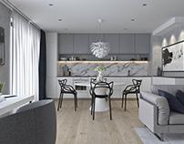 Krumlovska apartment | VIZN studio