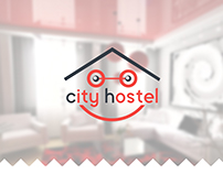 "Development of the logo for the hostel ""City Hostel"""