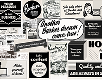Poster Wall - Barker and Stonehouse