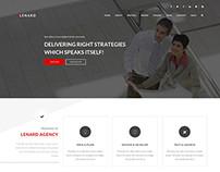 Lenard - Onepage Business Responsive WP Theme