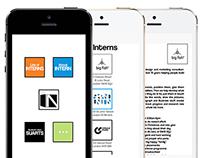 IN -internship app-