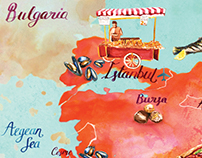Illustrated Map of Turkey Advertorial
