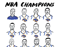 2015 NBA CHAMPIONS | GOLDEN STATE WARRIORS