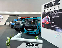 Stand GAZ GROUP Client: Gaz Group- Russia