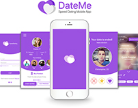 DateMe - Speed Dating Mobile App