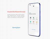 Hospital Dashboard Menu Concept