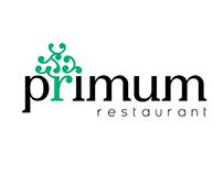 Primum Restaurant /  Logo Design