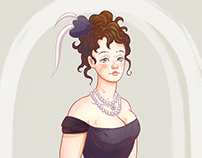 Anna Karenina - Procreate Illustration