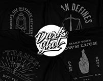 Dark Shot Creative T-Shirt Series