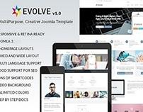 Evolve - Responsive Multi-Purpose Website Template