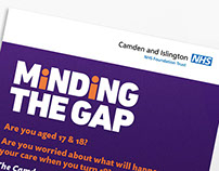 Minding the Gap graphic identity