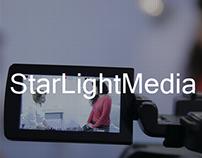 Redesign concept for StarLightMedia