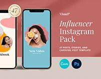 Influencer Social Media Kit v.8