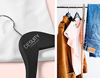 Branding for the DESUITY women's clothing store