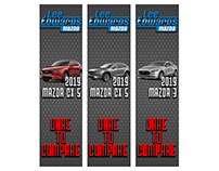 Lee Edwards Mazda banners