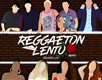 Fan Art cover reggaeton lento