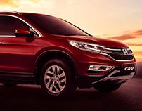 Honda CRV - Fusão de Imagem