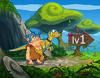 Dino Jack Adventure Sidescroller