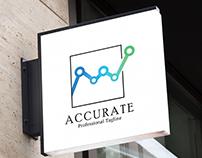 Accurate _ Logo Design