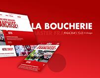 La Boucherie - Ui Ux Design