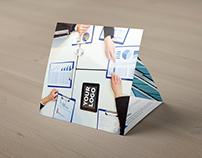 Lesgrov Tri-fold Square Brochure Template