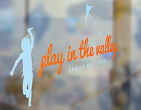 Play in the Valley Day Care Logo & Website Design