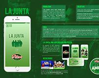 """La Junta"" - Board Case Pilsen"