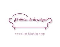 El diván de la psique (LOGO + Homepage)