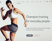 Fitness Club – Health & Fitness WordPress Theme