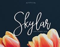 Free Skylar Calligraphy Font