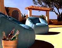DAY OFF - 3D renderings