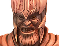 Statue of Thanos