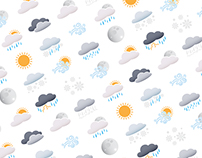 Custom Weather Icons