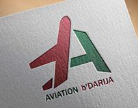 AVIATION b'DARIJA logo