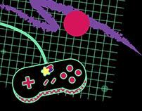 Kawaii Old School Gamer 2