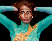 Bodypainting and photography
