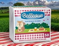Projeto de Design de Embalagem para Guardanapo Bellevue