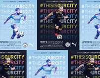 Manchester City x Puma ~ North American Kit Launch
