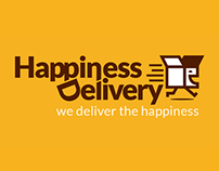 Happiness Delivery • Branding