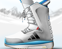 ADIDAS Snowboarding boots