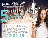 Primp and Blow Branding - Web Campaigns
