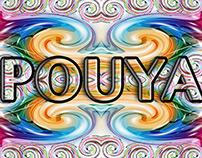 Pouya Digital 3d Font